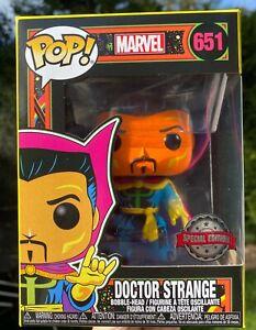 Marvel Blacklight - Doctor Strange Orange Blue #651 Funko Pop Vinyl New in box