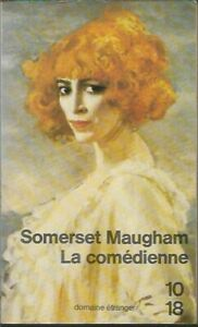 W Somerset Maugham La Comedienne Domaine e'tranger 1982 PB in French