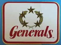 Rare Vintage 1980's New Jersey Generals USFL Football Decal Sticker Donald Trump