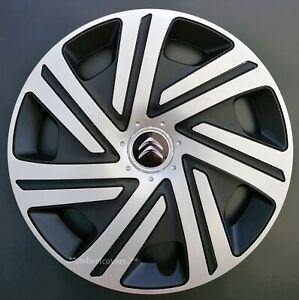 "Set of 4x15"" Wheel Trims for Citroen C3, Berlingo, Nemo"