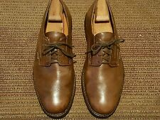 MEPHISTO 100% CAOUTCHOUC MEN OXFORDS US # 13 M BROWN LEATHER MADE IN PORTUGAL.