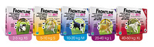 Frontline Tri-Act antiparasitic flea dogs 3 pipettes up 4 to 60kgs