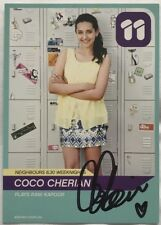 COCO CHERIAN *Rani Kapoor* HAND SIGNED Channel 11 NEIGHBOURS Cast Fan Card #2