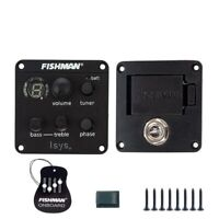 FISHMAN ISYS+ EQ Acoustic Guitar Pick-Up Clip On Sound Hole Pick Up SET