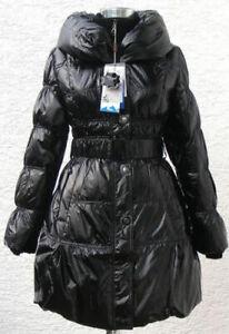 Daunenjacke Winterjacke Daunenmantel Damen Schwarz & 38 glänzend Outdoor ABR1027