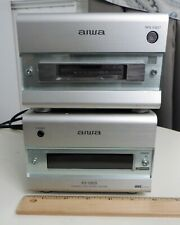 AIWA Model XR-M88 Compact Disc Stereo System w/User Guide