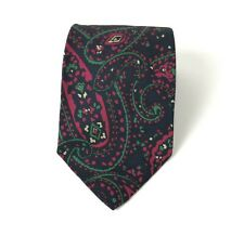 Vintage Polo By Ralph Lauren 100% Silk Tie Mod Colorful Paisley Hand Made in USA