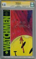WATCHMEN 1 1986 CGC 9.8 SIGNATURE SERIES SIGNED DAVE GIBBONS DC MOVIE ALAN MOORE