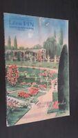 Revista Jueguete Leon Pin Saint-Genis-Laval Rhone Primavera 1947 ABE