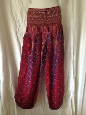 Ladies Harem Boho Pants Summer Plus Size 16 18 20 Also Maternity BNIP [PS-PKP]