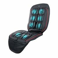 Viotek Massaging Seat Cover Air Pressure Cushion for Car Truck Office Black