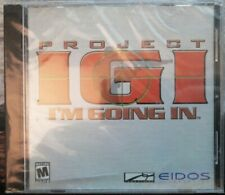 Video Game PC Project I.G.I. I'm Going In NEW SEALED Jewel