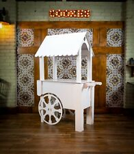 Candy cart sweet stand flatpacked Reinforced Cardboard birthdays weddings events