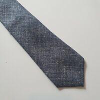 ATKINSONS Mens Tie - Solid Grey