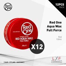 12pcs Red One Aqua Hair Gel Wax Red 150ml Free Agiva #05 Wax! Hair Style Salon