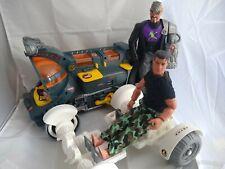 Action Man figure and vehicle bundle