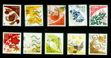 C2328 Japanese  Stamps 2017  Traditional color morning glory used