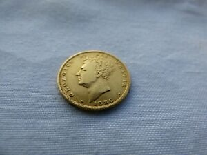 1826 George 1V Full Gold Sovereign in nice condition