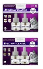 Feliway Classic CAT Diffuser Refills - (2) 2 ct 48 mL 30 Day x 4 ct (120 days)