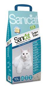 Sanicat Oxygen Power Clean Non-clumping Cat Litter 10ltr