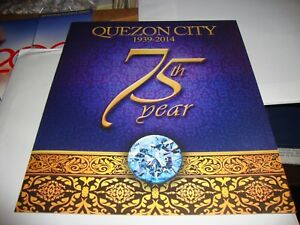 Quezon City Commemorative Stamps Diamond Jubillee First Day cover set PhilPost