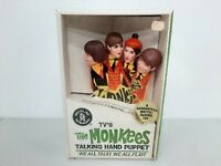 1966 Mattel The Monkees TV Talking Hand Puppet Sealed New In Box (Mute) UP