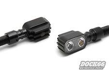 Slimline Rücklicht Bremslicht Blinker LED Mini Kombi f. Harley, Custom schwarz