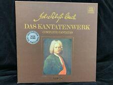 BACH Cantatas #28, 29 & 30 - HARNONCOURT - TELEFUNKEN ST 2LP BOX w/ SCORES