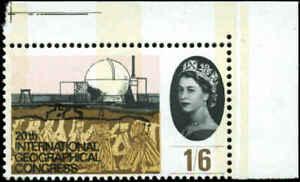 Great Britain  Scott #413p Phosphor Mint Never Hinged  Corner Margin Copy