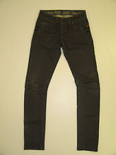 G Star Raw - Low Rise Jack Zip Skinny Jeans - Black / Gray - Size 28