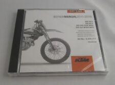 KTM SX-F 350 Reparaturanleitung Repair Manuel CD 11-19