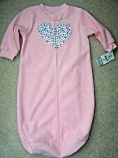 Girls- 0-9M - Carter's Sleep Bag - Pink With White Dots - MSRP $18.00