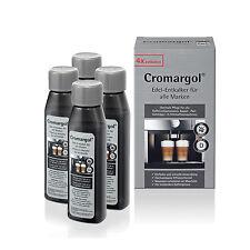 4 Fl. WMF Cromargol® Edel-Entkalker 100ml f. Vollautomaten, Padmaschinen  usw