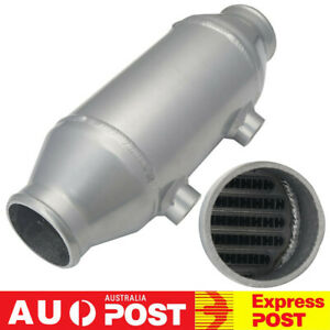 """Barrel Water to Air Intercooler Charge Air Cooler 4""""x6"""" For Turbo Supercharger"""