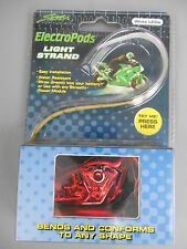 "NOS ElectroPods Motorcycle White LED 12"" Light Strand 480835"