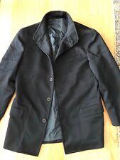 Exte Italy Jacket Coat Dark Navy Blue Mens Long Sleeve