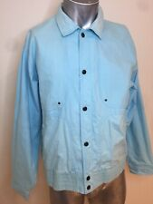 Vintage 1990's PIONEER Light Blue Button Jacket Made In Macau 105cm Chest