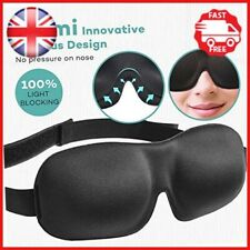 Eye Mask for Sleeping, Unimi Upgraded Sleep Mask Blindfold 3D Contoured Eye 100%
