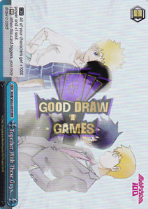 Together With These Guys… - RRR - MOB-SX02-097R - Weiss Schwarz