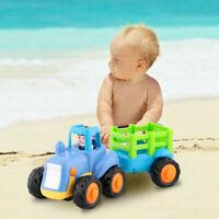 Kids Mini Alloy Construction Truck Cartoon Car Model Toy Gift for Children