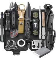 Eiliks 24pc Survival Gear Kit, emergency cool gadgets for birthday gifts...