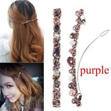 Fashion Women Hair Accessories Crystal Hairpin Hair Clip Barrette