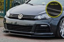 Spoilerschwert Frontspoiler aus ABS für VW Golf 6 R mit ABE Carbon Optik