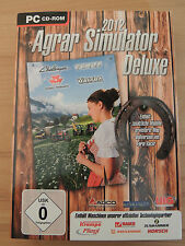 AGRAR SIMULATOR DELUXE 2012 INCL.  FARM RACER *PC*