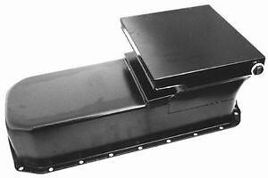 Chevy II 2 11 Nova Small Block Rear Sump  Oil Pan. 283 305 327 350 Extra Capacit