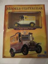 (4) M B MODELS OF YESTERYEAR CARS: '37 CORD 812, DUESENBERG, ZEPHYR, VAN TUB RS