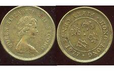 HONG KONG 50 cents 1977  ( british colony )