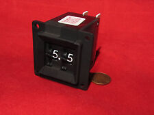Cherry Electric Thumbwheel Switch - 2 Digit Counter 0-9 Decade, 28VDC, 3A, Black