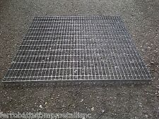 grigliato modulare bordato zincato elettrosaldato 25x76 ferro pedonale 1000x1000
