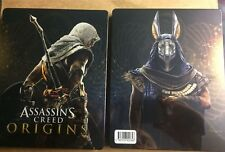 ASSASSIN'S CREED ORIGINS NEW STEELBOOK PS4 PC XBOX G2 SIZE METAL CASE ASSASSINS